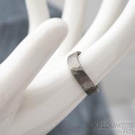 Forever draill titan - velikost 54, šířka 4,5 mm, vlny 6 mm, tloušťka 1,5mm - matný - Titanové snubní prsteny - sk1830