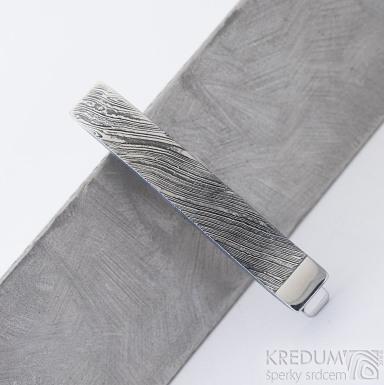 GLINT - Kovaná spona na kravatu damasteel, produkt SK2316