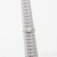 ilustrační foto - Gordik Flower Ag a diamant 1,5 mm - Snubní nebo zásnubní prsten, velikost 50,5; šířka 3,5 mm, kytička 6 mm