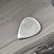 Hitmaker - dřevo, zatmavené - trsátko z oceli damasteel - SK1980