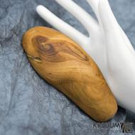Jabloňová - Ručně vyrobená dřevěná spona, SK1508