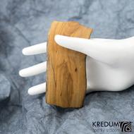 Jabloňová - Ručně vyrobená dřevěná spona, SK1517