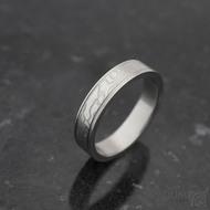 Kasiopea steel - 60 4,5 1,5 75% světlý - damasteel snubní prstenyk 1044 (6)
