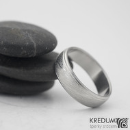 Kasiopea steel - damasteel snubní prsteny, 58 5,5 mm 1,5, 50% sv k 0945 (2)
