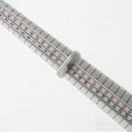 Kasiopea Steel, voda světlá - 53 CF, šířka 5,1 mm, tloušťka 1,6 mm - Kovaný snubní prsten, SK2980 (6)