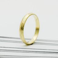klásek snubní prsten gold yellow (2)
