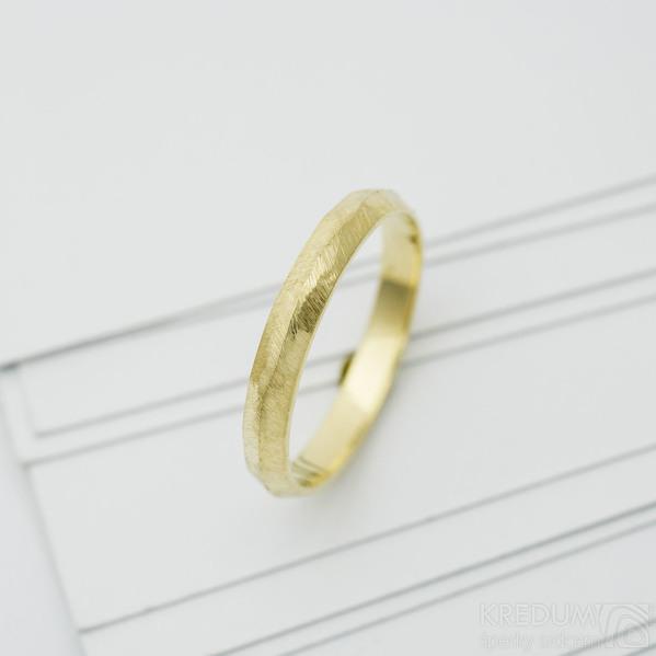 klásek snubní prsten gold yellow (4)