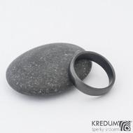 Klasik DLC lesklý - 49,5 4,6 1,3 - Nerezový snubní prsten sk1185 (2)