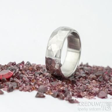 Klasik draill - velikost 52, šířka 6 mm, lesklý -Nerezové snubní prsteny - k 1537 (2)