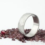 Klasik draill - velikost 71, šířka mm, matný -Nerezové snubní prsteny - k 1537 (4)