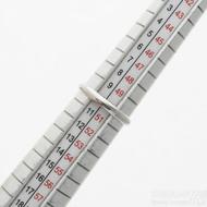 Klasik lesklý - Kovaný nerezový snubní prsten, velikost 50,5, šířka 2,5 mm - produkt SK3074