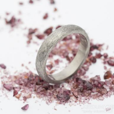 Klasik titan hrubý mat - kovaný titanový prsten, produkt SK2766