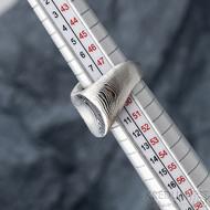 Klik - Kovaný damasteel prsten, velikost 49,  S328