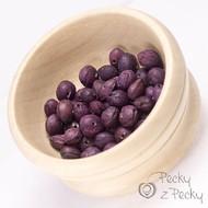 Peckové korálky - fialové