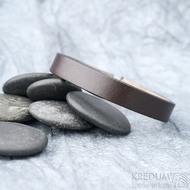 Kožený náramek - Manus 10 hnědý