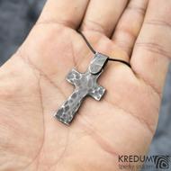 Křížek kovaný tmavý - nerezová ocel,  fl 3455946 (3)