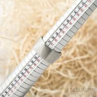 Kumali matný - velikost 64, šířka 11 mm, tloušťka 1,7 mm - Nerezové snubní prsteny, SK1289