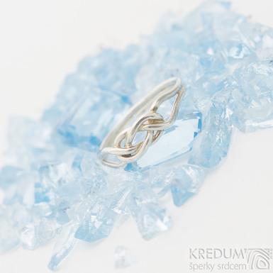Kuplung Silver - Stříbrný prsten, produkt SK2541
