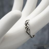 Kuplung Silver Patina - Stříbrný prsten, SK1572