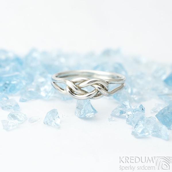 Kuplung Silver - Stříbrný prsten - velikost 56 -  k 1600