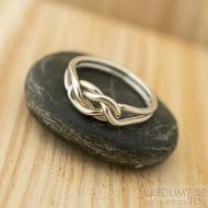 Kuplung Silver - Velikost 52 - Stříbrný prsten - k 1486
