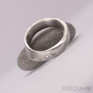 lusk damasteel zásbnuní prsten 3