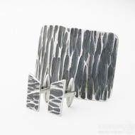 ilustrační foto: Manžetové knoflíčky Desk kant a opasková spona Mistr 3,5X kant
