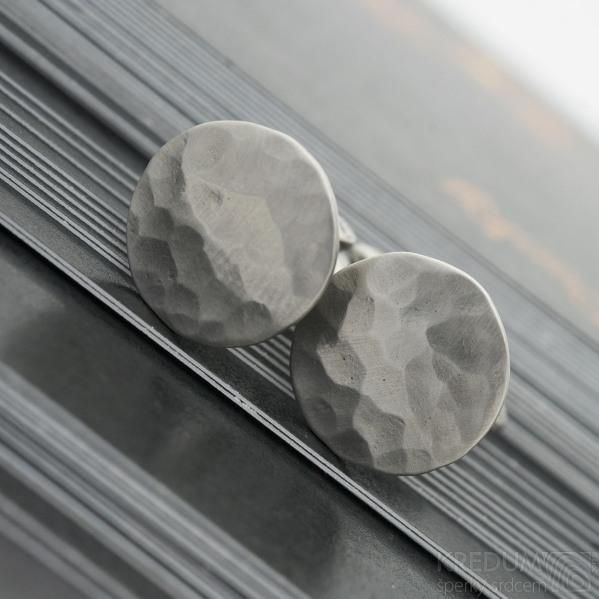 Manžetové knoflíčky - Round Draill