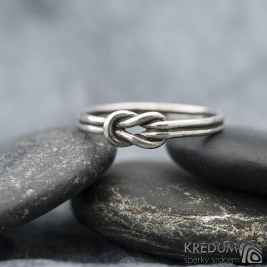 Marge Silver patina - Stříbrný prsten, SK1506
