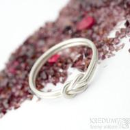 Marge Silver - velikost 65 - Stříbrné snubní prsteny- K 1720
