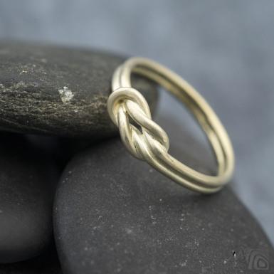 Marge yellow - Zlatý snubní prsten - SK1425