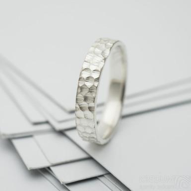 Marro silver stříbrný snubní prsten