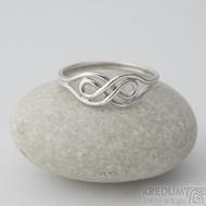 Mask Silver - Stříbrný prsten, velikost 63 - k 2354
