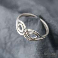 Mask Silver - Stříbrný prsten