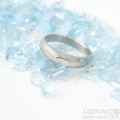 miniALANE - bez kamene - nerezová ocel damasteel, SK1651