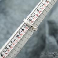 miniAlane pro kámen - vel 52,5, šířka hlavy 4,3 mm dlaň 3 mm, tloušťka hlavy 2,8 mm dlaň 1,4 mm - Damasteel prsteny - sk1651 (3)