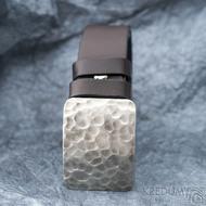 Mistr 3,5X - Draill světlý - Kovaná nerez spona a kožený pásek, SK1654 (6)