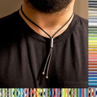 Náhrdelník Riana - další variaty barev paracordu