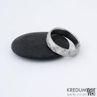 Natura kovaná za tepla - 56 5 TW - Damasteel snubní prsteny sk1275 (3)