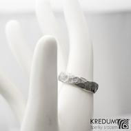 Natura kovaná za tepla - 56 5 TW - Damasteel snubní prsteny sk1275 (4)