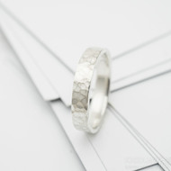 natura snubní prsten stříbro (4)