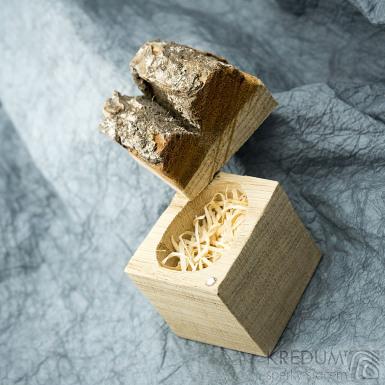 Natural wood - Originální dárková krabička na šperky, SK2005