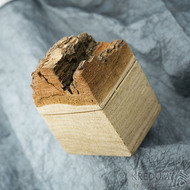 Natural wood - Originální dárková krabička na šperky, SK2006 (4)