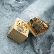 Natural wood - Originální dárková krabička na šperky, SK2006