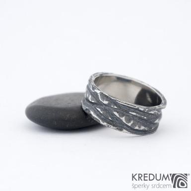 Pán vod Archeos - Nerezový snubní prsten, SK1468
