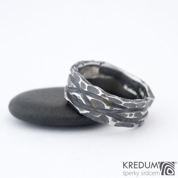 Pán vod Draill - Nerezový snubní prsten, SK1467