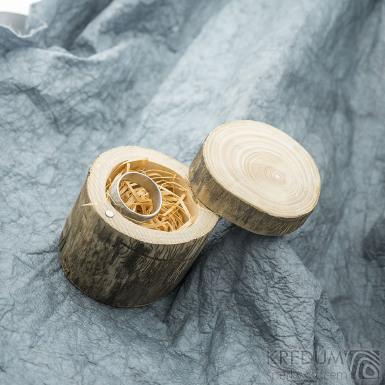 Pařez - Originální dárková krabička na šperky, SK2007