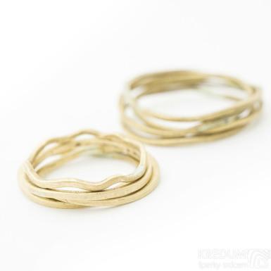 Plain gold yellow - zlatý snubní prsten