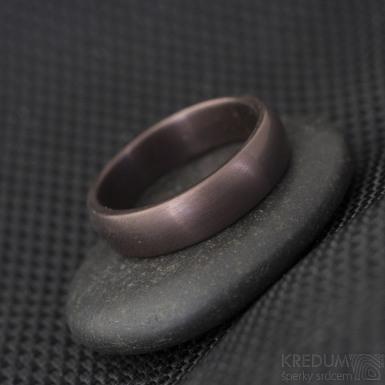 Povlakování prstenů - TiAlN - vínová