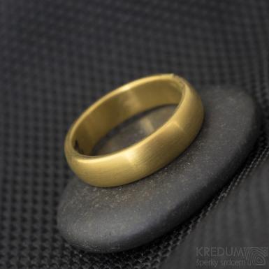 Povlakování prstenů - TiN- zlatá